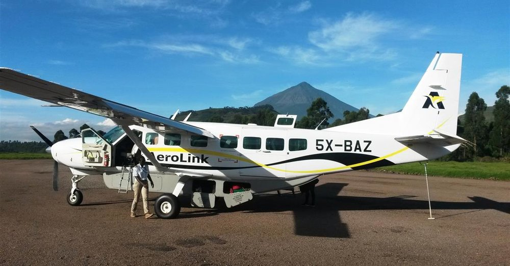 fly in package    The perfect package if you already are around Kampala and don't want to lose time traveling to and from the Bwindi area.       Day 1 Scheduled Aerolink Flight (11-seater)   Entebbe – Kisoro Transfer Kisoro – Mutanda Lake Resort Sunset boat cruise Stay on FB at Mutanda Lake Resort    Day 2 Return transfer to Gorilla trekking Gorilla trek in Bwindi or Mgahinga N.P. Stay on FB at Mutanda Lake Resort    Day 3 Breakfast and activity possibility Transfer back to Kisoro Scheduled Aerolink Flight (11-seater)  Kisoro – Entebbe                                  BOOK NOW