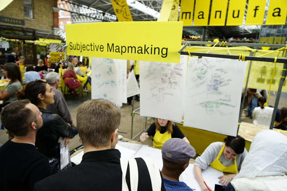 Subjective Mapmaking Manufactory at London Design Festival