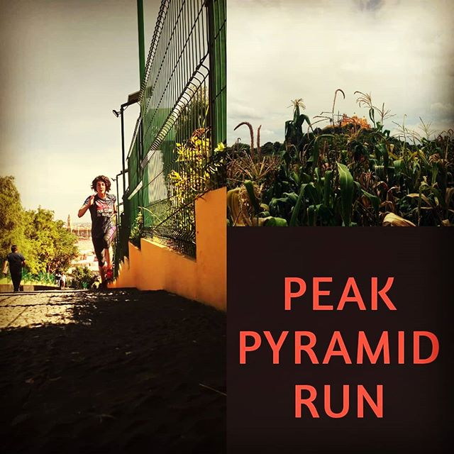 Where do you find your hill runs!? @peakteam #Mexico #runners #fuel #pinole #training #pyramid #awsome #hillrunning #race @azurefood