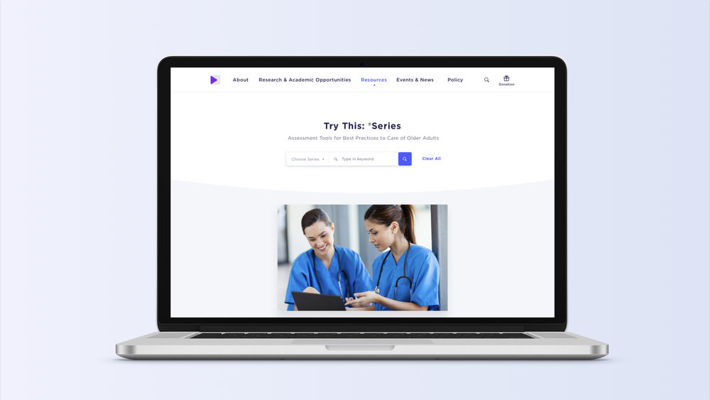HIGN Website Redesign   Web Interface Design | UX Research