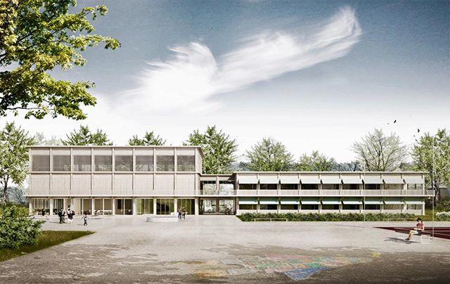 #heilpaedagogische #schule #bern #architecture #wood