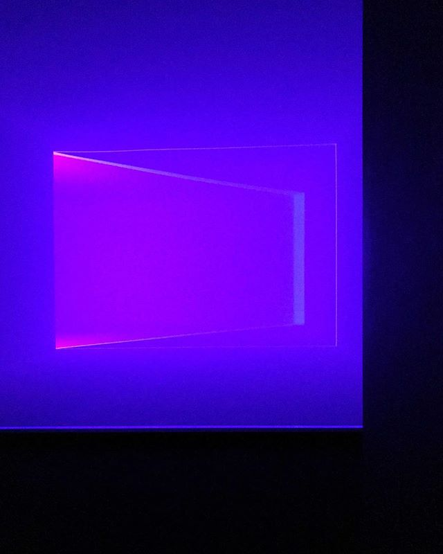 #colourful #lightspace #jamesturrell