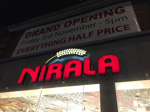 New Nirala branch opening High Road Leyton E10 on Friday 3rd November at 5pm. Opening Offer - Everything Half Price! #nirala#niralasweets#mithai#cakes#cake#biscuits#newbranch#opening#grandopening#halfprice#sale#leyton#bakersarms#e10#walthamforest#walthamstow#leytonstone#eastlondon#foodporn#bakery