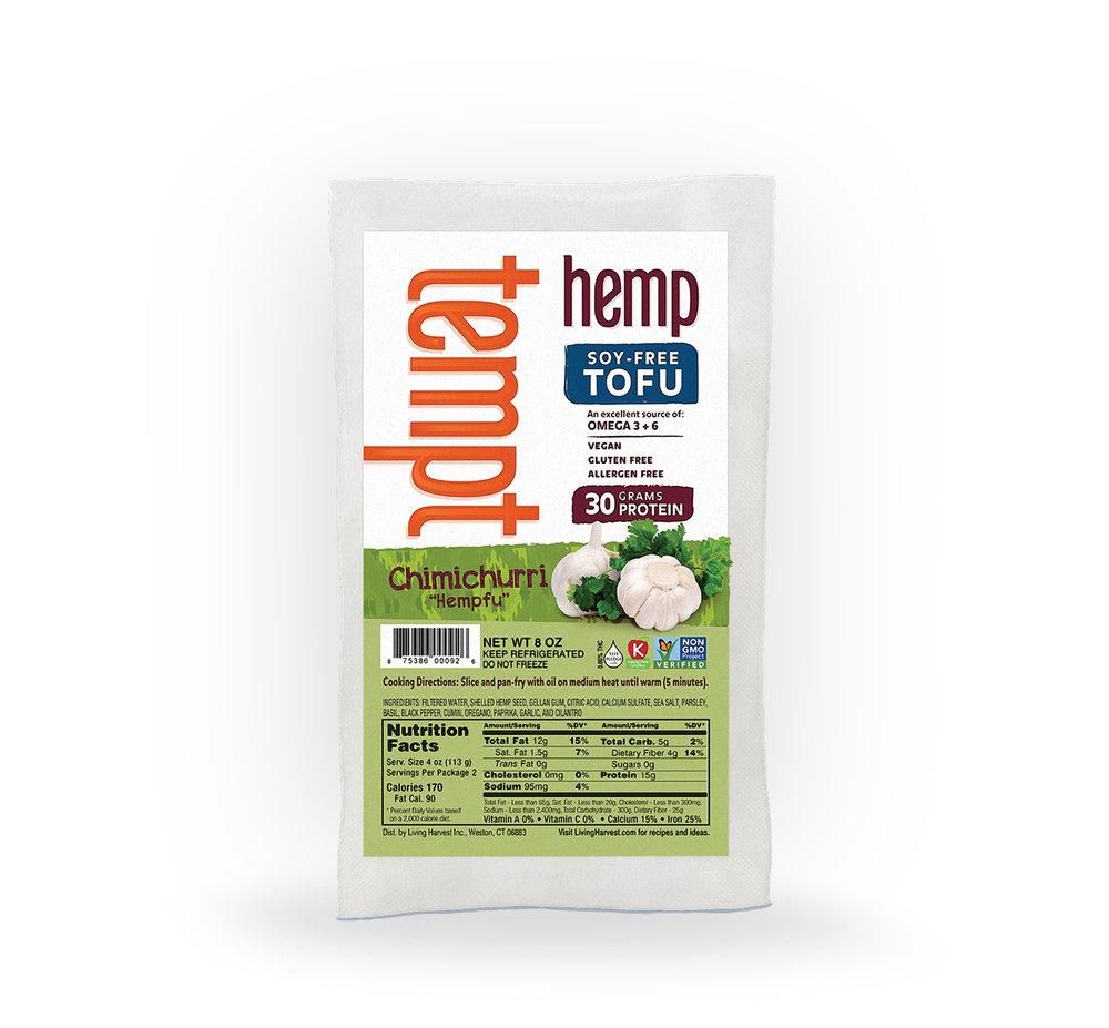 Chimichurri Hemp Tofu