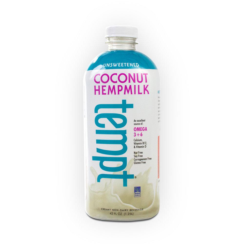 42 Oz. Unsweetened Coconut Hempmilk