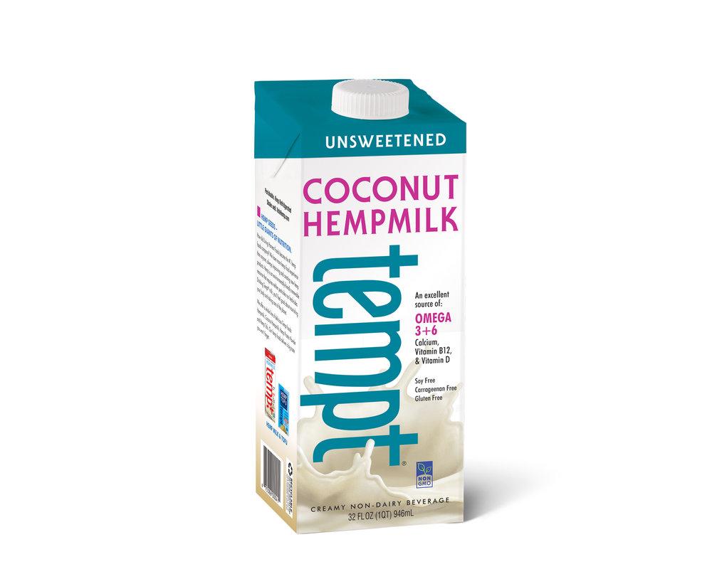 Unsweetened Coconut Hempmilk