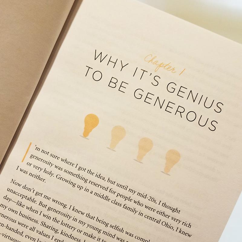 WEEK 1: - Why It's Genius to Be Generous