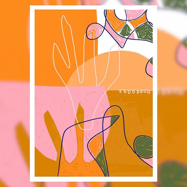 Feeling zesty testing more colour palettes 🍑🍊🌸🌴#letthesunshinein #peachy