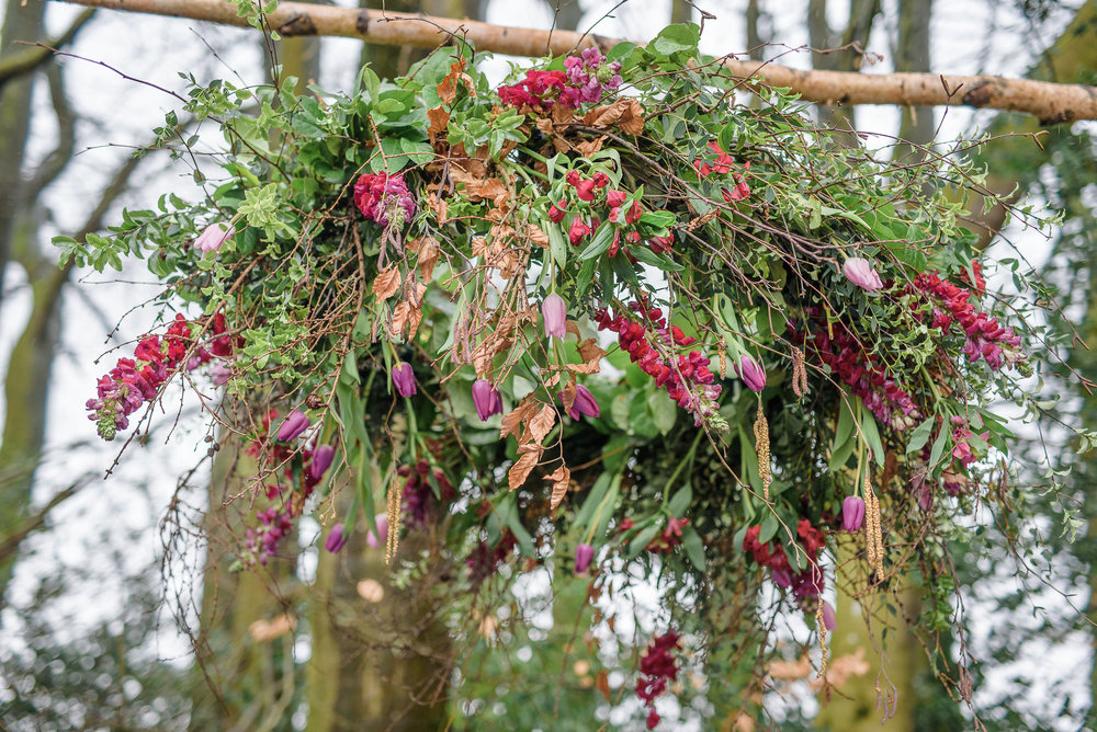 Essex Boho Wedding Florist