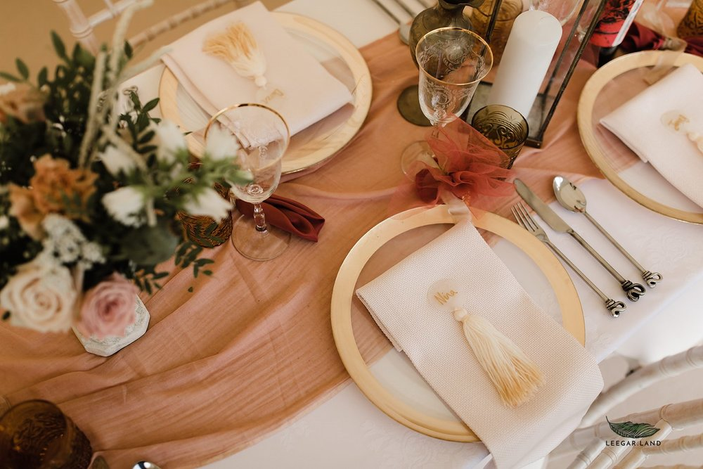 Blush tablescape inspiration