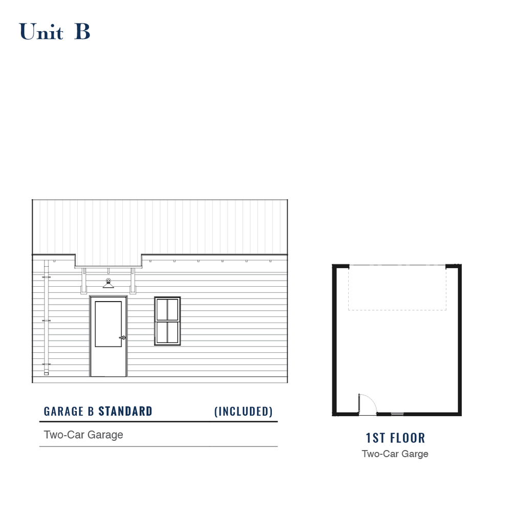 Unit B Standard Garage | East Wilbur LiveWorks, Downtown Lake Mary