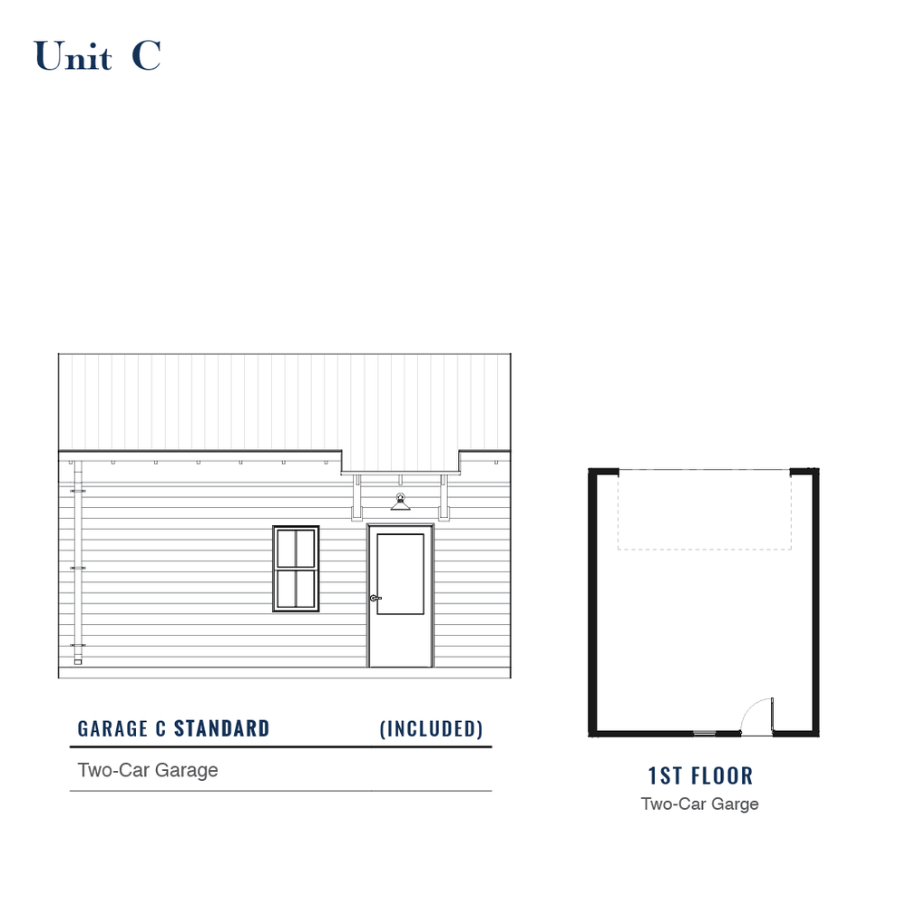 Unit C Standard Garage | East Wilbur LiveWorks, Downtown Lake Mary