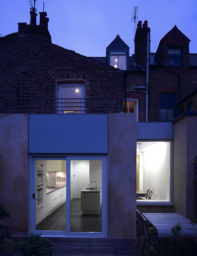 External view - night
