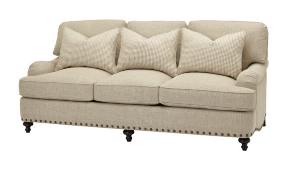 The traditional/transitional 6801 sofa from Massoud Furniture