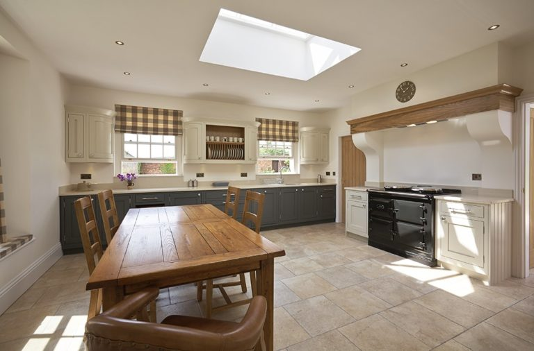 The New-Build Farmhouse Kitchen, by 1909 Kitchens in the UK