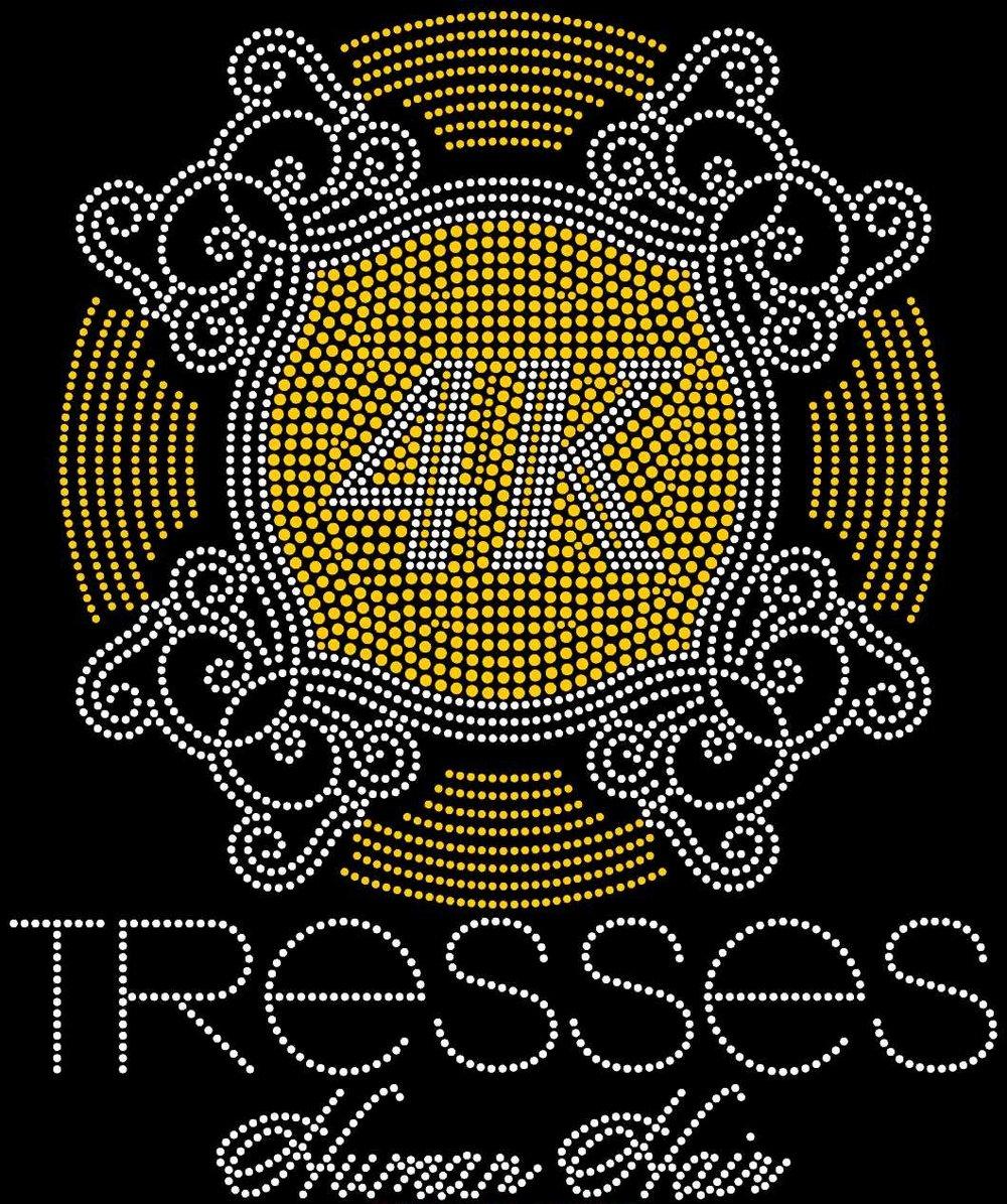 4K TRESSES LOGO BRANDED TEES -