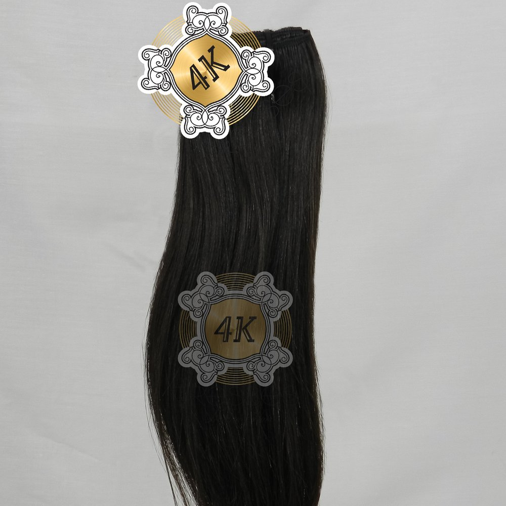 100% RAW INDIAN HUMAN HAIR STRAIGHT