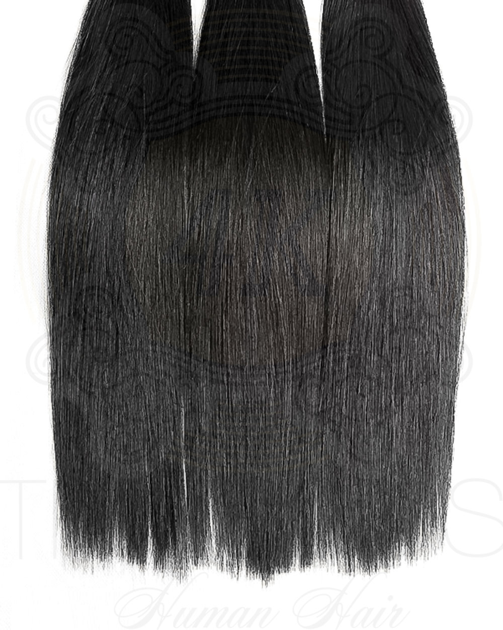 4K Tresses Branded Premium Full Unit 100% Indian Human Hair Lace Front or Full Lace - Straight
