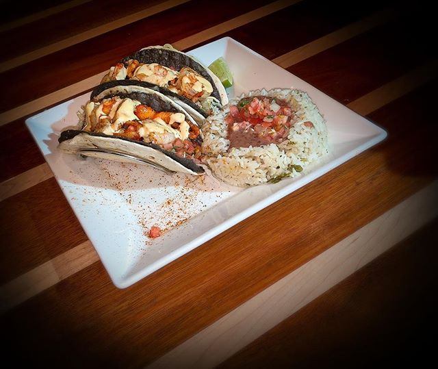 You can never go wrong with TACOS!  Come try our Lobster and Shrimp tacos *they are as good as they look*