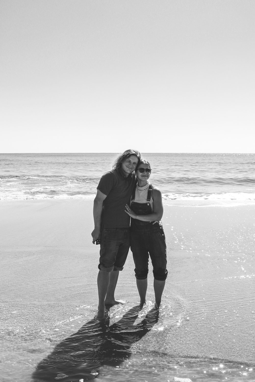 Sarah and Matt at Myrtle Beach, SC.