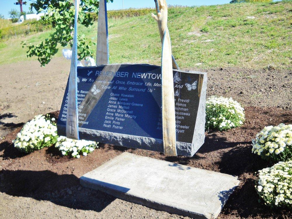 Memorial Stone Installation