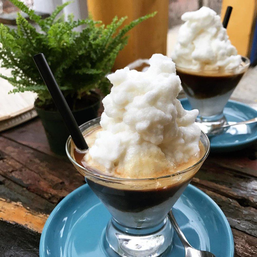 #coconutcoffee