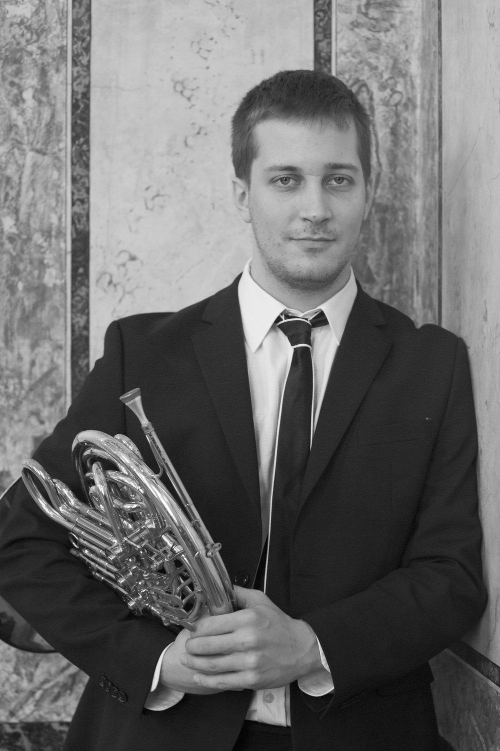 Mihajlo Bulajić - Principal horn,     RTV Slovenia Symphony Orchestra