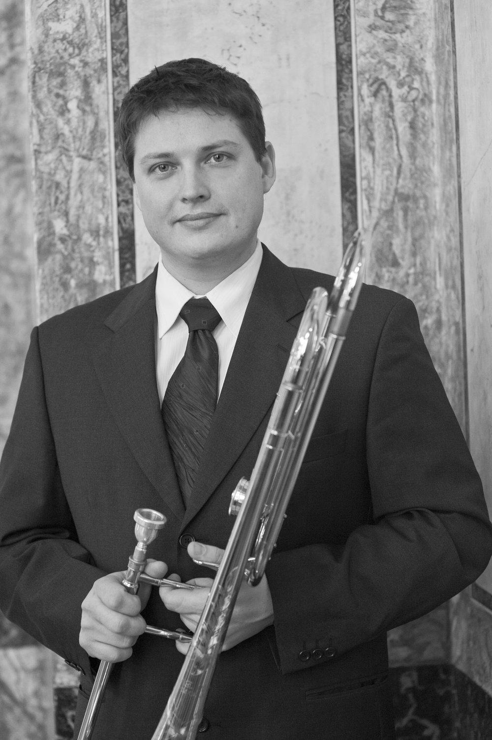 Mihael Šuler - Principal trombone, RTV Slovenia Symphony Orchestra