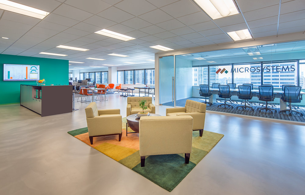 Microsystems, Chicago, Illinois - New Office Construction