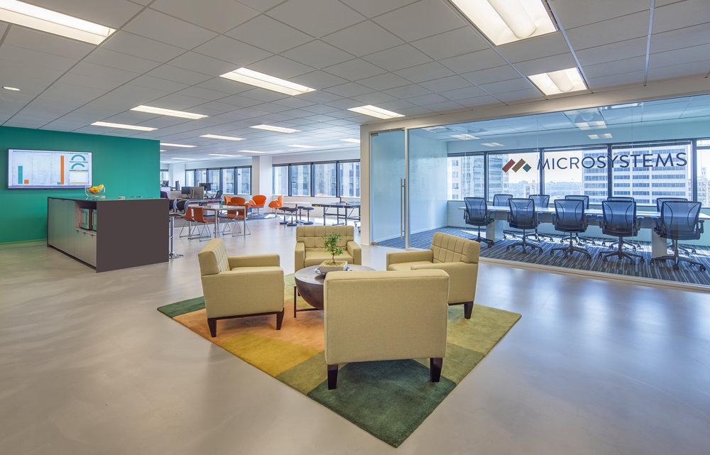 Microsystems | South Riverside Plaza | Chicago, Illinois