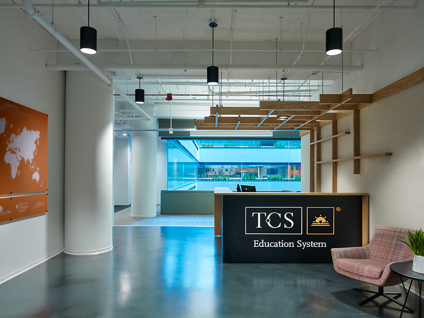 TCS Education   203 North LaSalle   19th Floor   Chicago