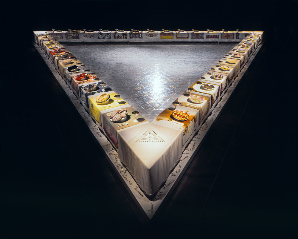 Judy Chicago, 'Dinner Party'