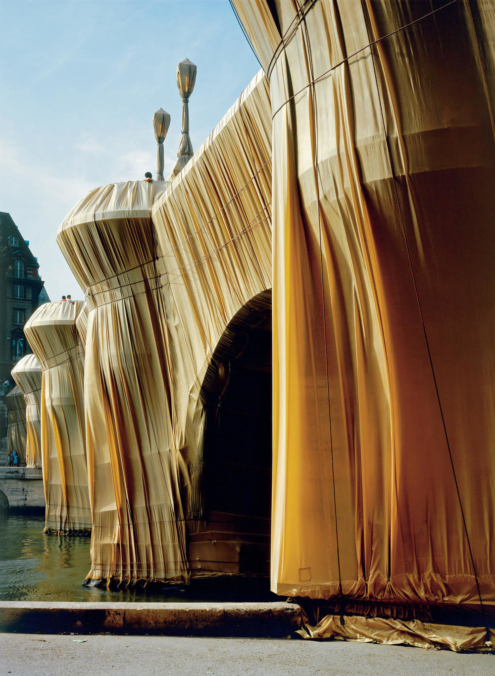 Pont Neuf Wrapped by Christo