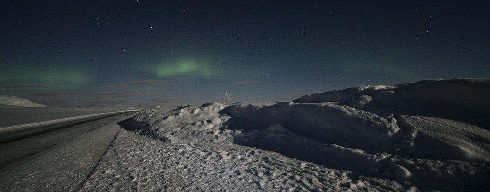 Aurora landscape