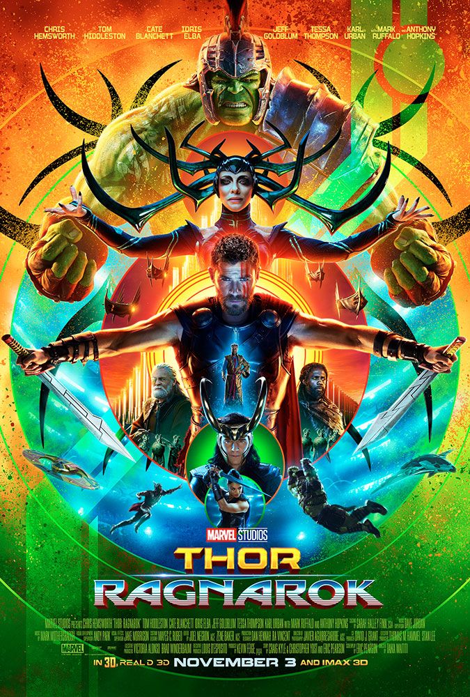 Official Thor: Ragnarkok poster from www.marvel.com