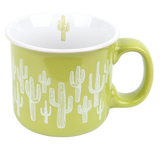 Cactus camp mug; courtesy Amazon.com