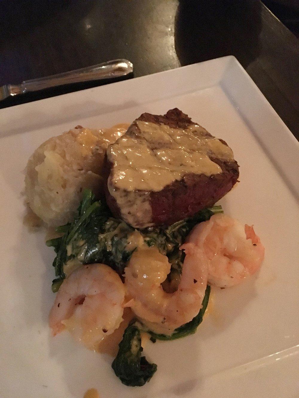 Beef & Shrimp