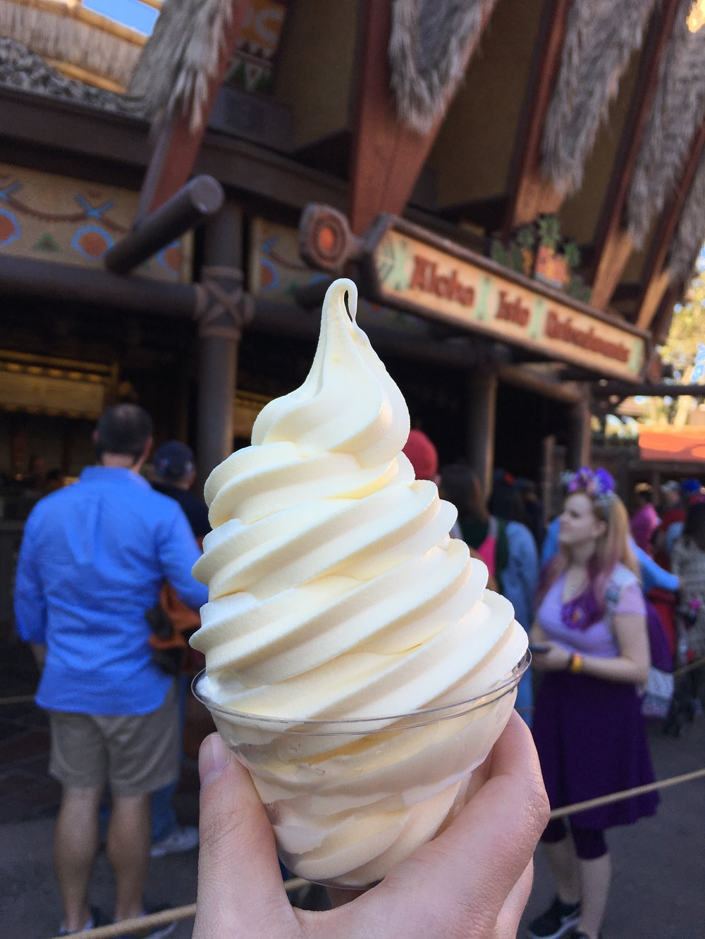 Beautiful Dole Whip & Vanilla Swirl