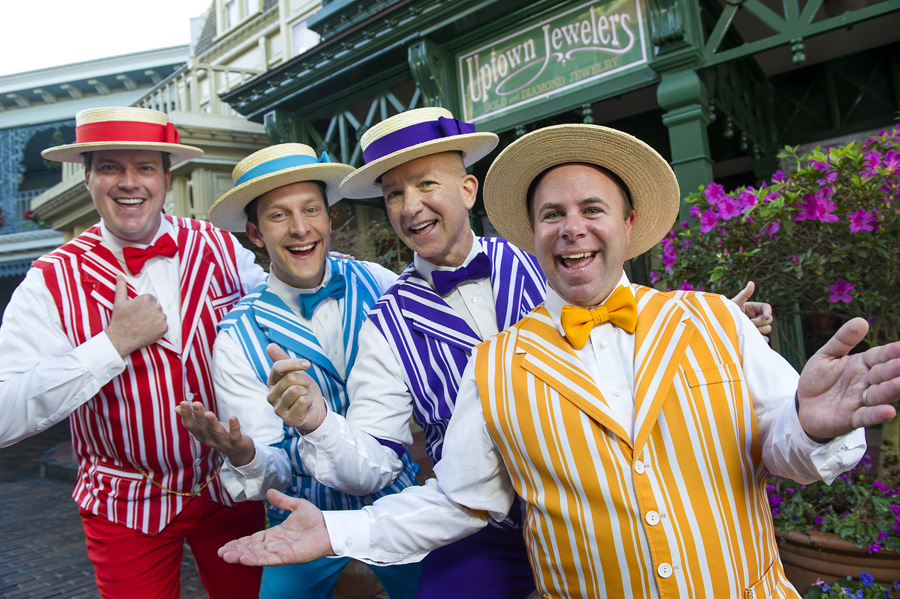 The Dapper Dans;  Image  via