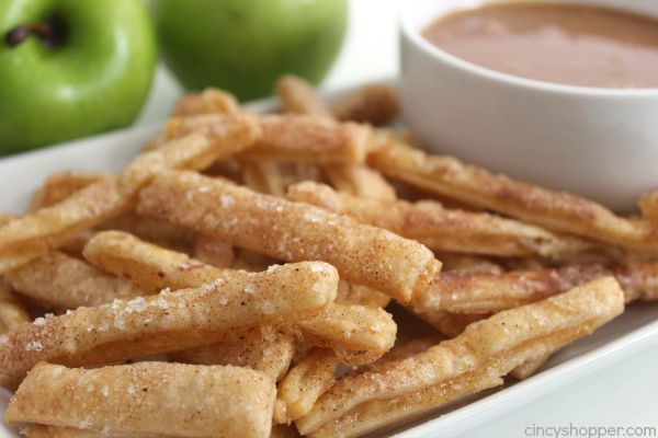 Apple Pie Fries;  Image  via