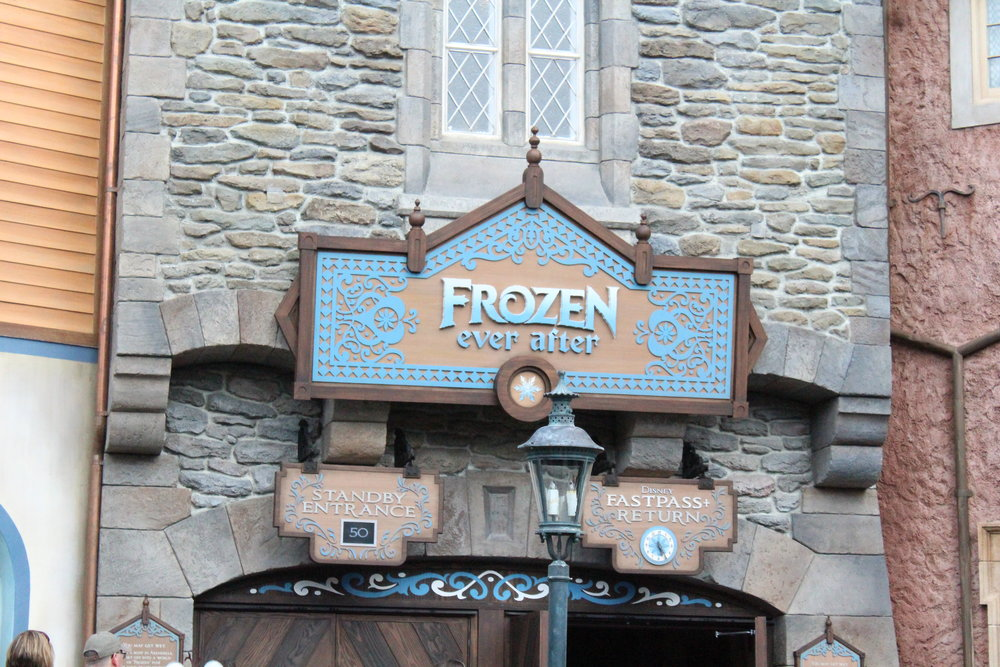 Frozen Ever After Sign %2827803925036%29 - Walt Disney World Honeymoon Part 8: Everything I Did and Ate at Epcot's World Showcase