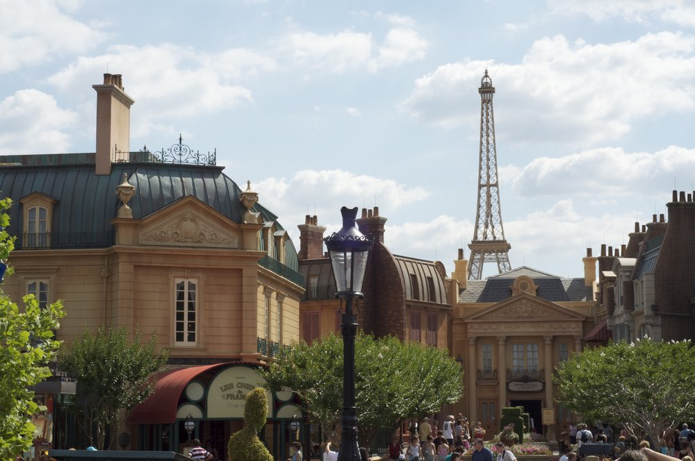 Epcot   France pavilion   by ckramer - Walt Disney World Honeymoon Part 8: Everything I Did and Ate at Epcot's World Showcase