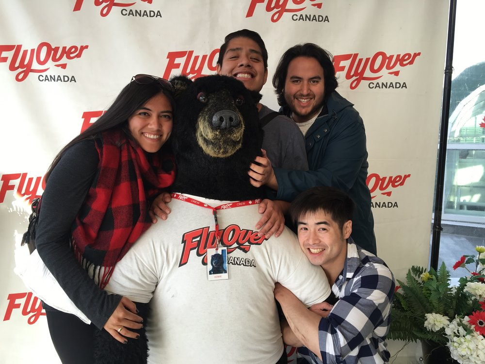 Bear hugs with some of my best guy friends in Vancouver, Canada