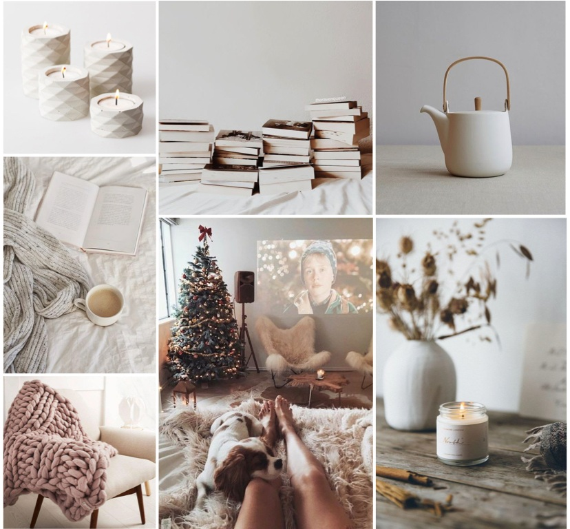 Hygge Mood Board by Ana Popovic (Images via Pinterest)