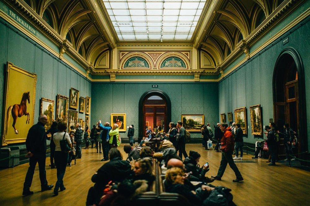 gallery openings