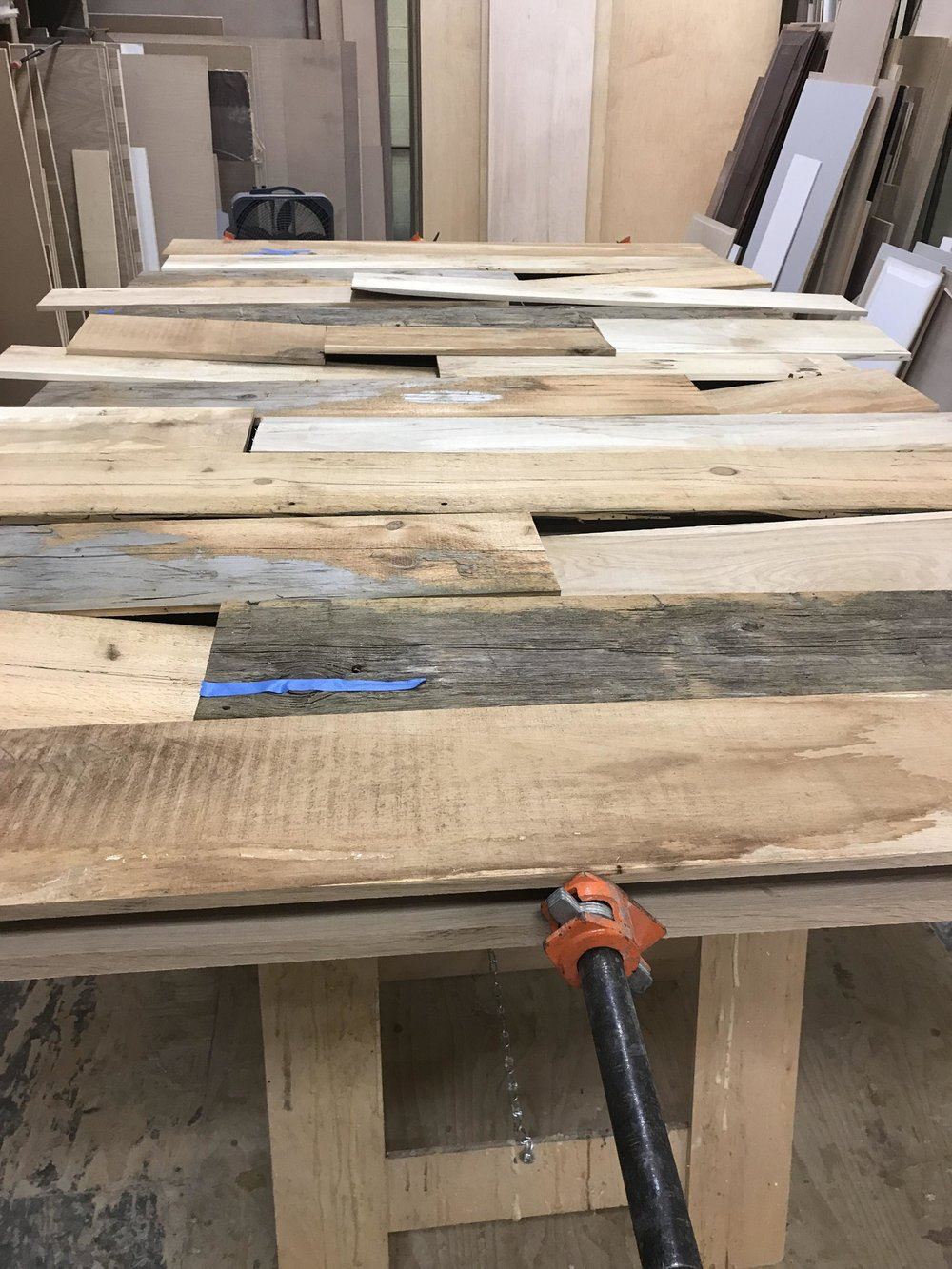 The Making Of A Barn Door Sterling