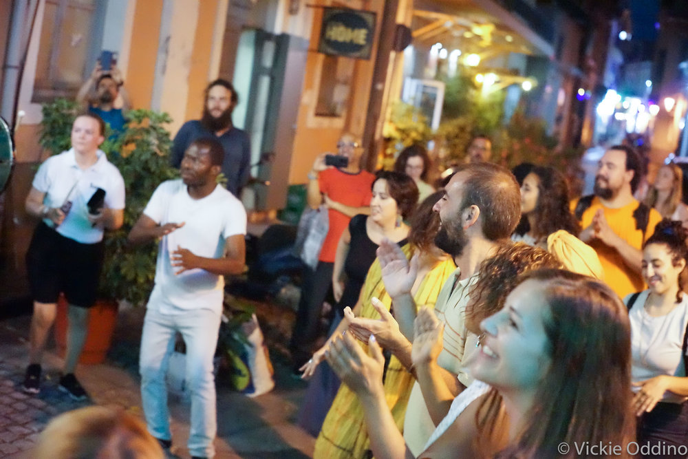 Dancing in the street, Mytilene