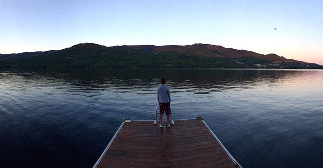 Summer night #tremblant #summertime #lifestyle #photographer #nofilter #iphone6plus #canada