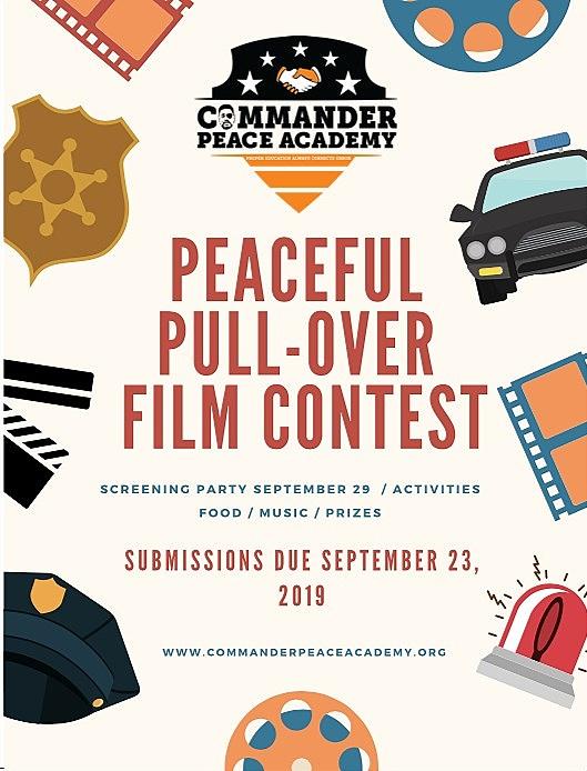 Film Contest Poster   Client: Commander Peace Academy