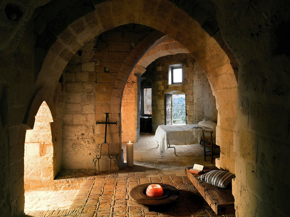UNCOVR: Perfect Local Day - Contemporary Sanctuary: The Hotel at Sextantio Grotte della Civita in Matera